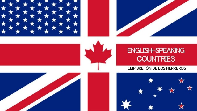 Unit 8 - English Speaking Countries
