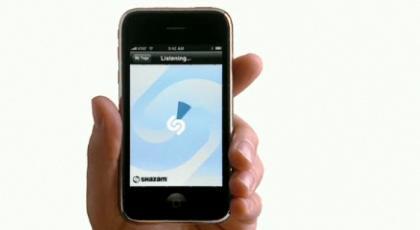 iPhone: Shazam