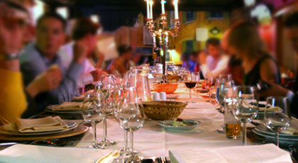 A Restaurant Reservation