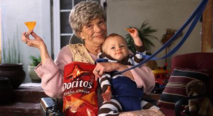 Baby Flies to Get Doritos