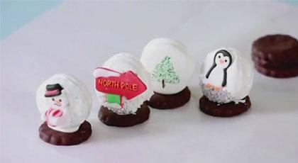 How to Make Christmas Snow Globe Cookies