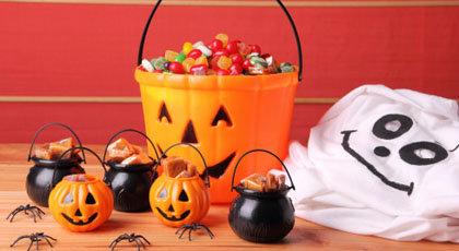 A Halloween Candy Buffet