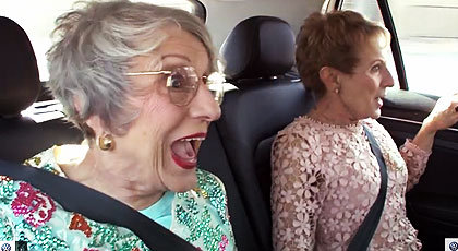 Grannies Go for a Ride