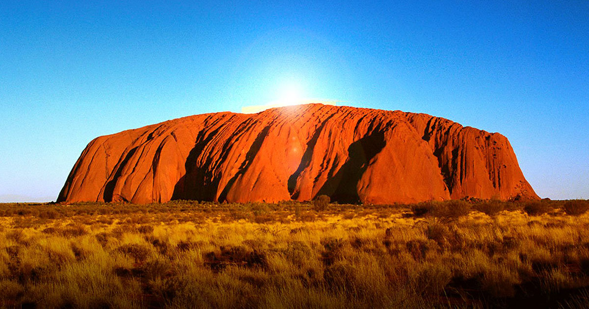 Uluru, the Sacred Rock