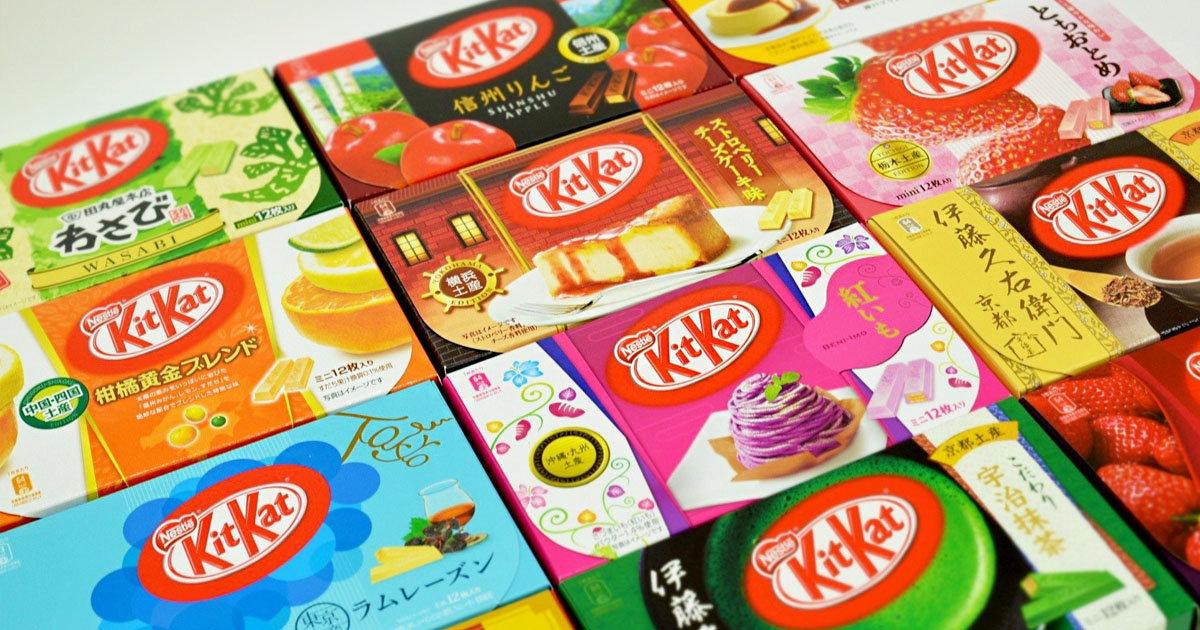 Crazy for KitKats