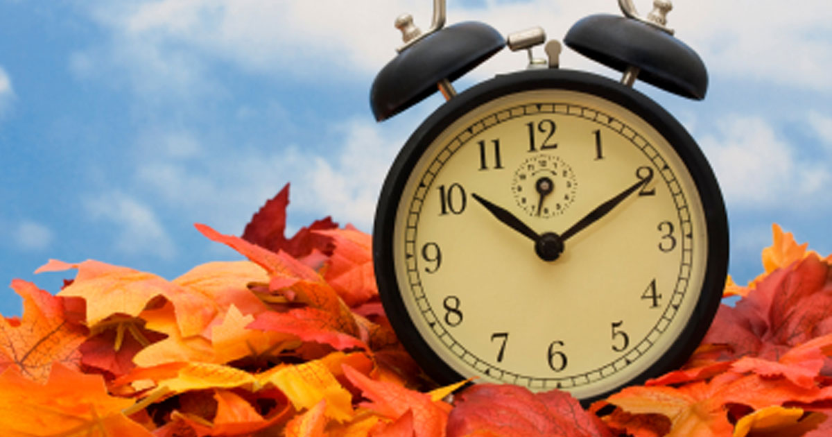 The Daylight Saving Fall Back