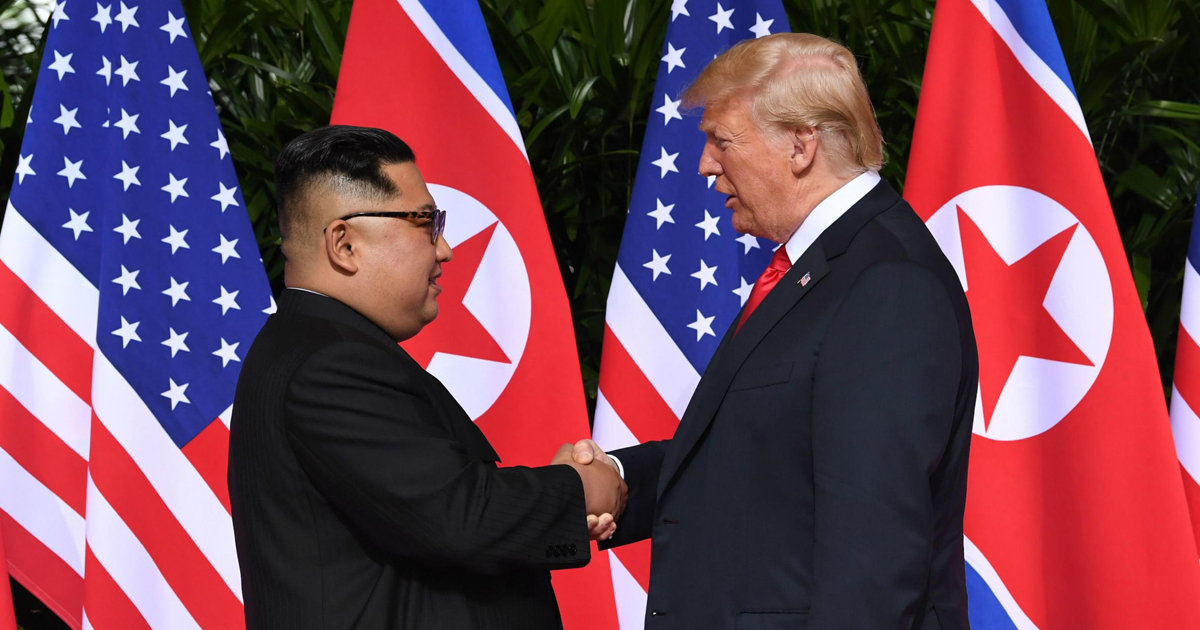 Trump and Kim Hold Historic Talks