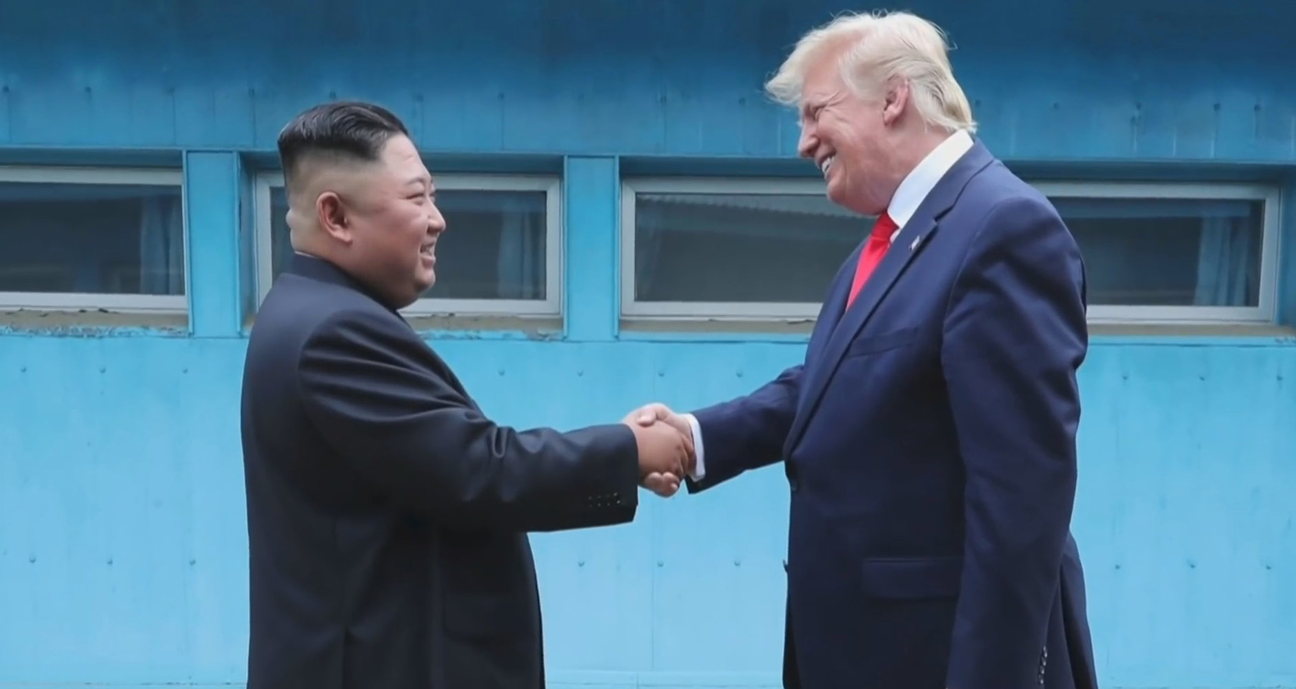 Trump Visits North Korean Side of DMZ