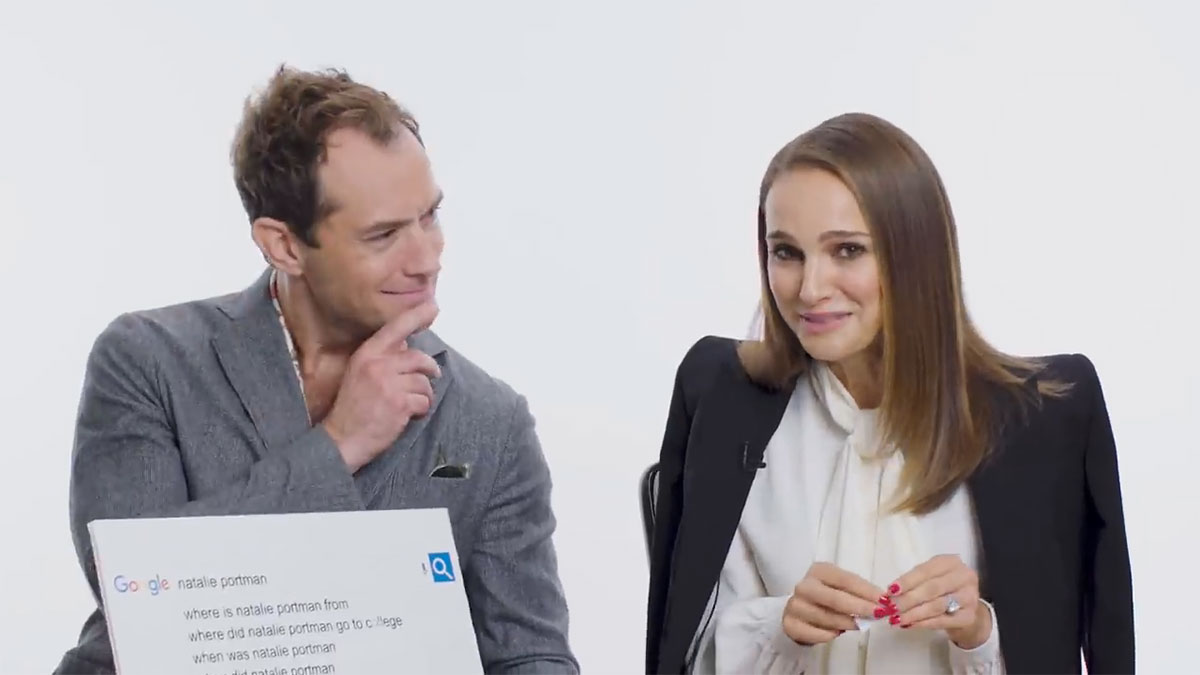 Natalie Portman and Jude Law Answer Common Questions